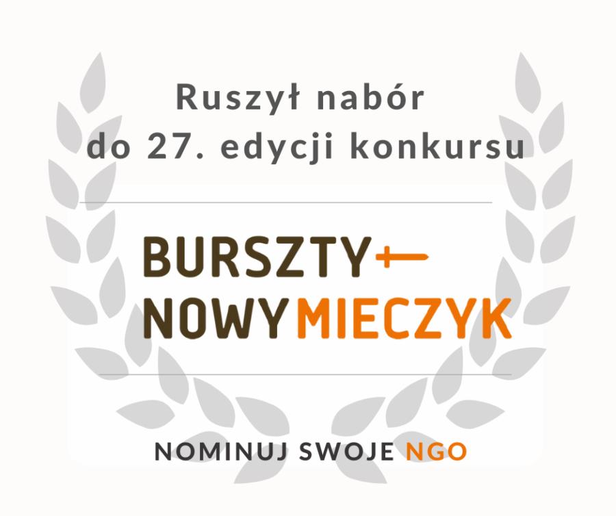 Zdjęcie: Trwa 27 edycja konkursu o Nagrodę Bursztynowego Mieczyka dla organizacji pozarządowych